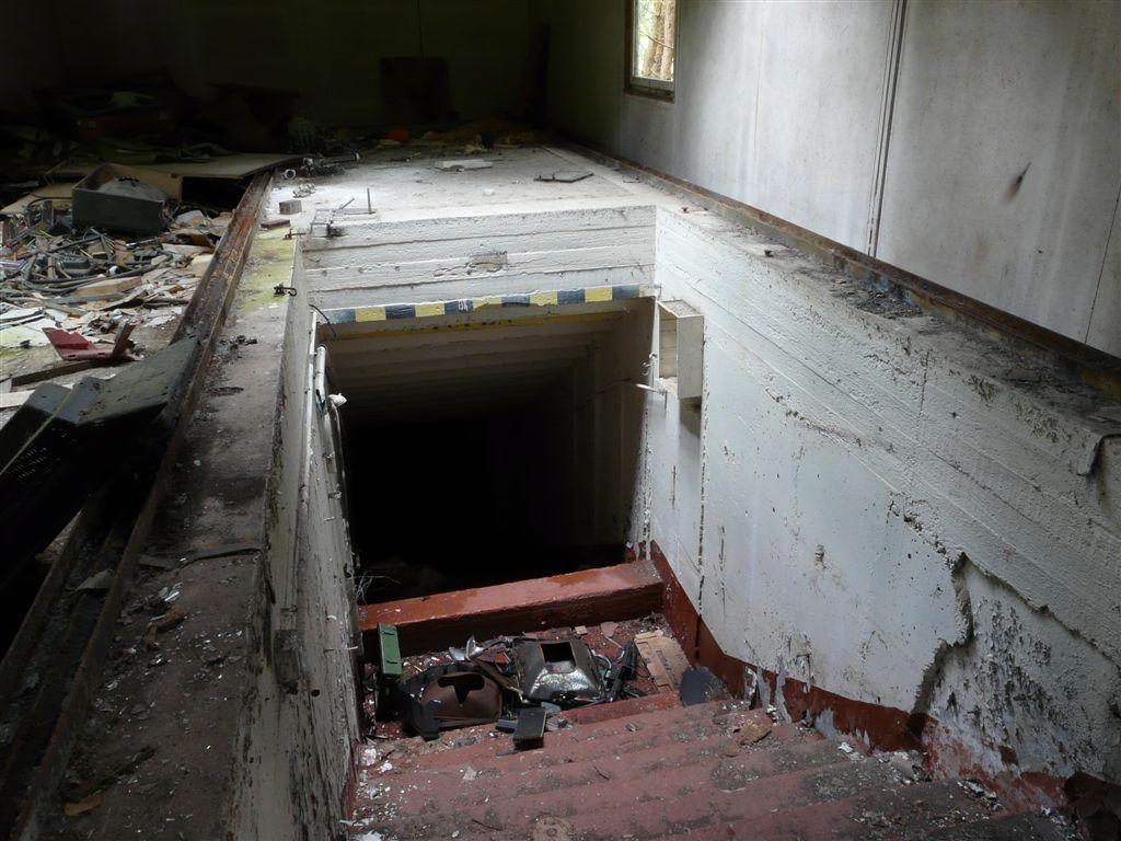 Untergrund Brandenburg Ausweichführungsstelle Der